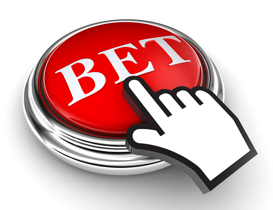 bigstock Bet Red Button And Pointer Han 33128378 Spelbutiker